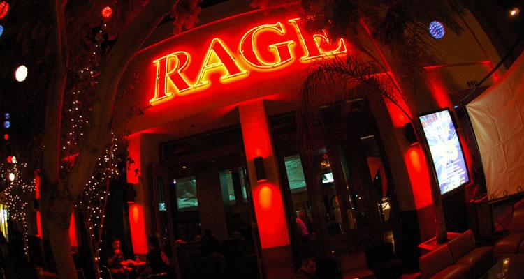 gay bar, west hollywood gay bar, rage restaurant and bar