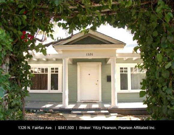 1326 N. Fairfax, West Hollywood