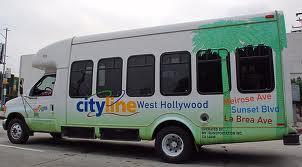 Cityline Bus, West Hollywood