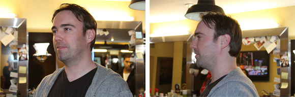 Don Draper haircut