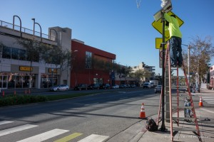 Santa Monica Boulevard Crosswalk