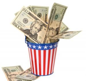 campaign donation money