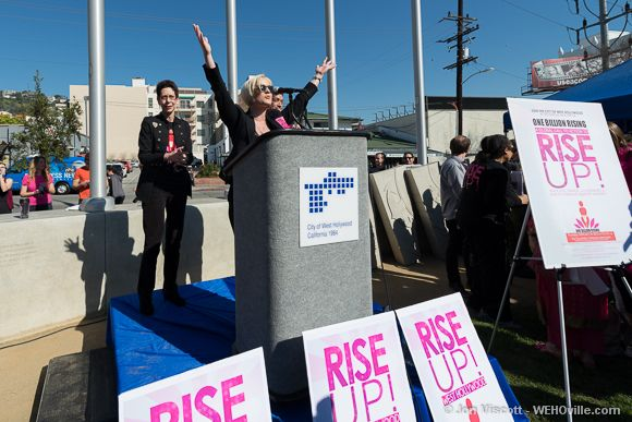 One Billion Rising - West Hollywood - 06