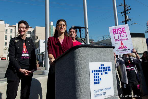 One Billion Rising - West Hollywood - 11
