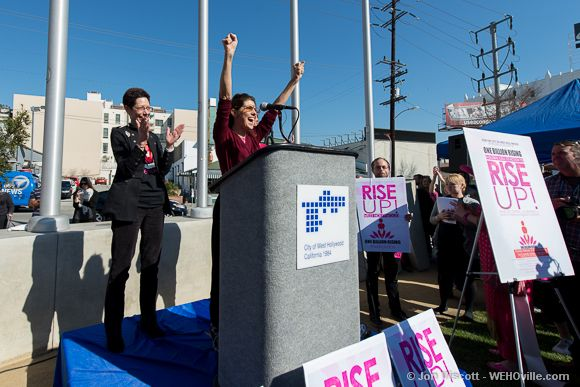 One Billion Rising - West Hollywood - 13