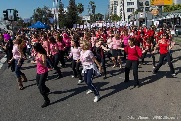 One Billion Rising - West Hollywood - 17