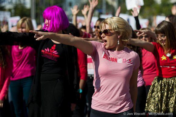 One Billion Rising - West Hollywood - 26