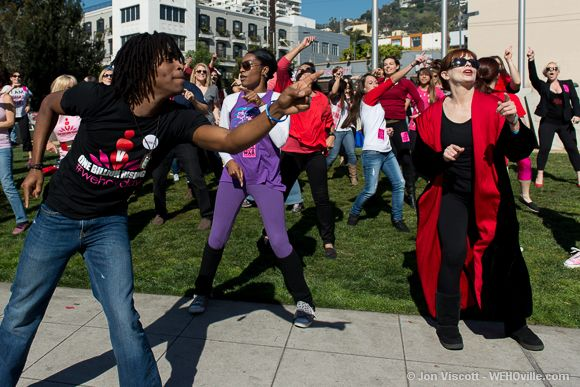 One Billion Rising - West Hollywood - 35