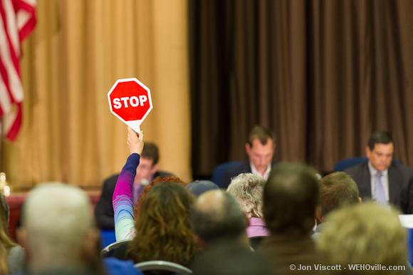 timing at the council debate