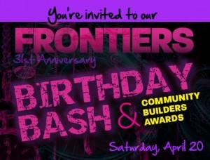 frontiers magazine birthday bash