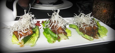 Char Siu in Lettuce Cups