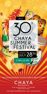 Chaya Summer Festival