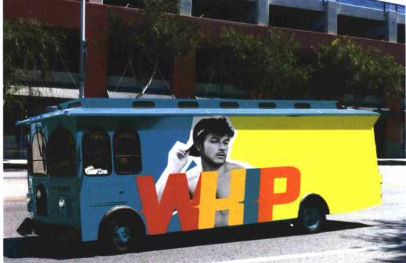 WHIP party bus concept