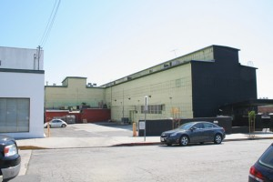 The current Factory building