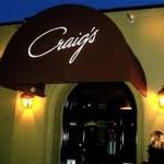 Craig's restaurant West Hollywood