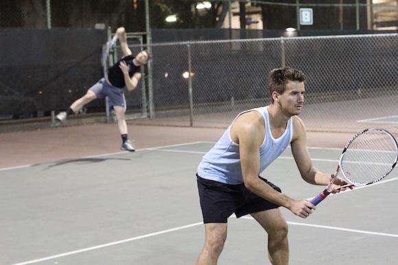 Varsity Gay League Tennis Week 3 Fall 2013
