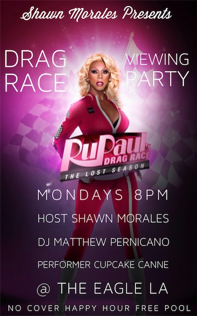 Drag Race Viewing party at the eagle
