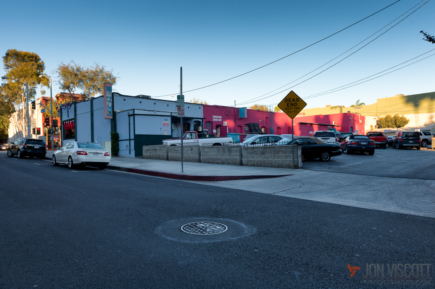 """... and which some want to memorialize by have the City Council officially recognize it as """"Vaseline Alley"""" (Photo by Jon Viscott)"""