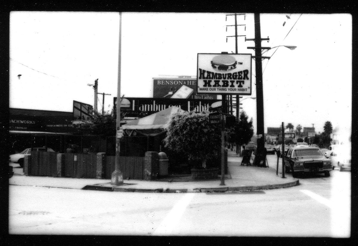Hamburger Habit, on the southwest corner of Santa Monica and Robertson boulevards, still serves up ....