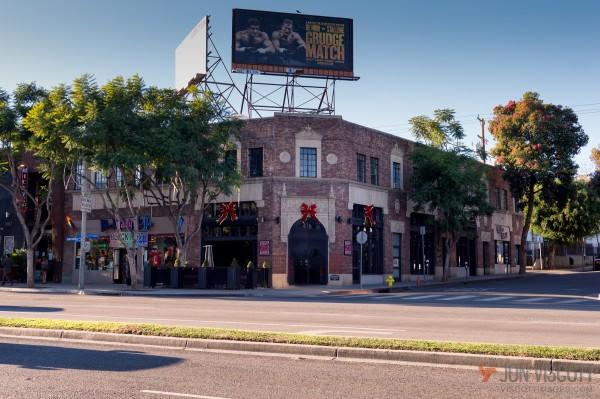 Revolver, at the corner of Santa Monica Boulevard at Larrabee.