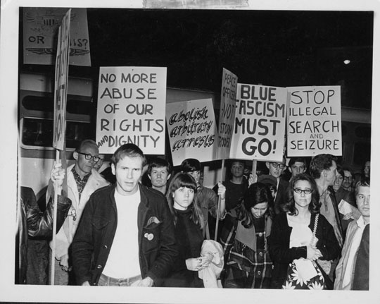 The Black Cat protest in Silver Lake in February 1967