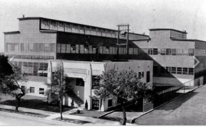 The Factory on Robertson Boulevard (Photo: Los Angeles Times, 1929)