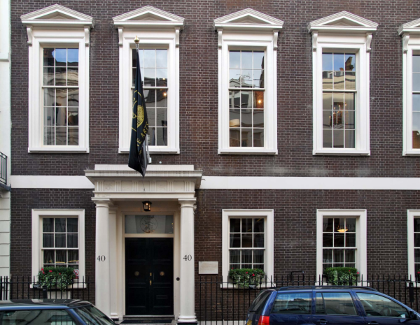 The Arts Club in London's Mayfair district.