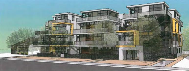 Project proposed for North Ogden Drive (Dean Larkin Design)