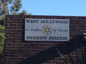 West Hollywood Sheriff's Station, crime report