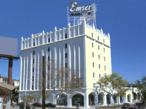 Emser Building, 8431 Santa Monica Blvd., built in 1925.