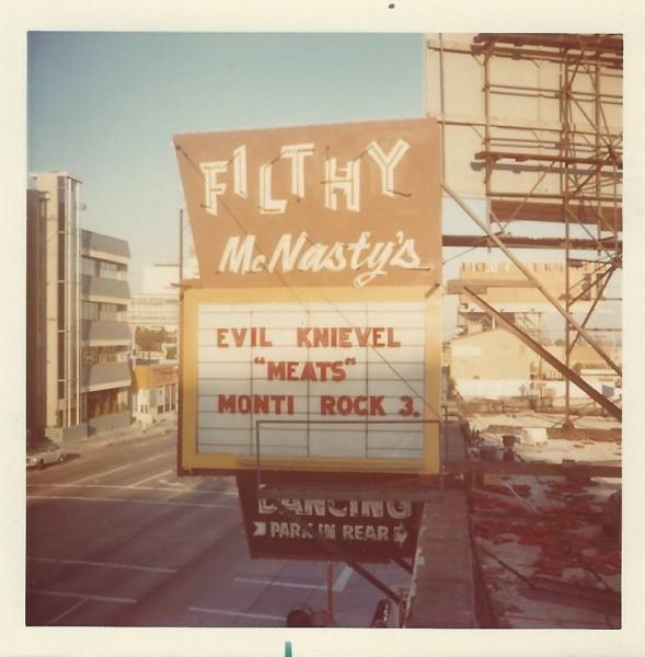Filthy McNasty at 8852 Sunset Blvd. near Larrabee