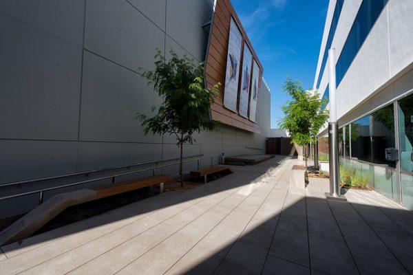 The automated garage community plaza