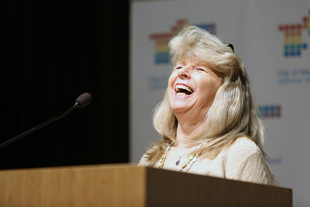 Carol Taylor-DiPietro (Photo by Leigh Green, courtesy of the City of West Hollywood)