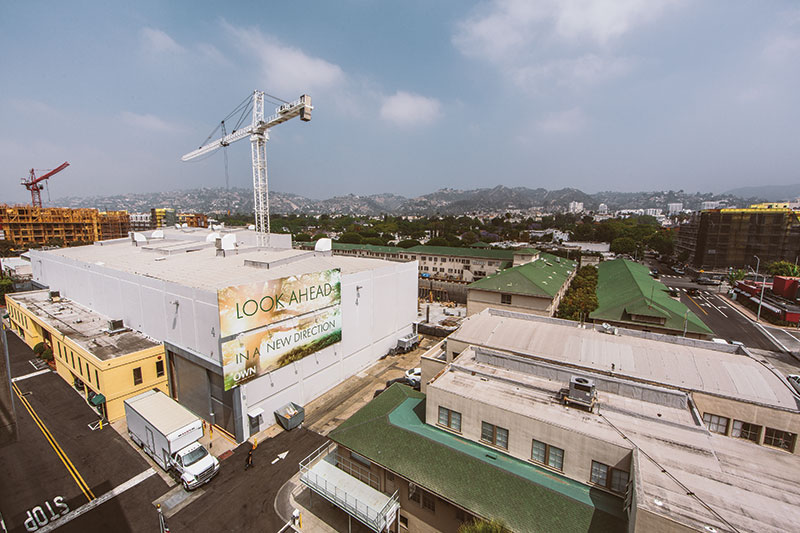 Building up and growing at The Lot. (Photo by Paolo Fortades)