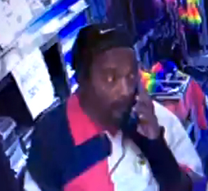 Man suspected of theft at The Block Party