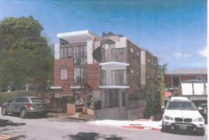 Illustration of 1280 N. Sweetzer Ave. project (Architect Kazanchyan Design)