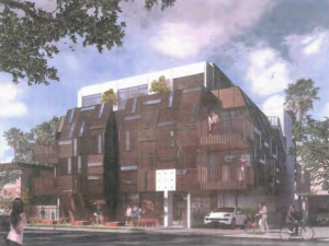 Illustration of 511-515 N. Flores St. project. (SPF Architects)