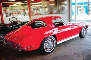 1973 Chevrolet Corvette Stingray Split Window Coupe. (Photo by Mike Allen).