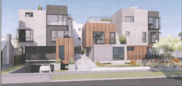 Illustration of proposed 1016 Martel Ave. project (R&A Design)
