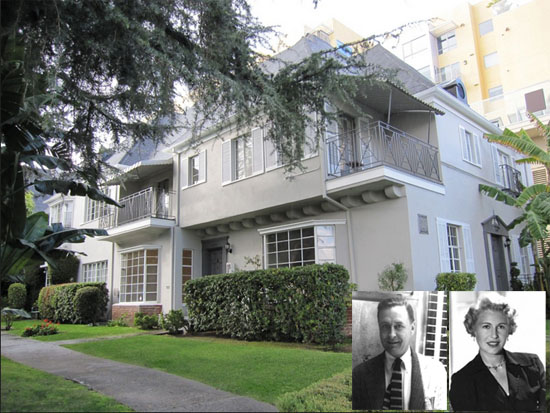 West Hollywood apartment where F. Scott Fitzgerald died
